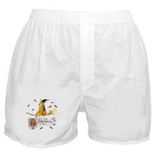 Halloween Airedale Terrier Boxer Shorts