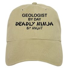 Geologist Deadly Ninja by Night Baseball Cap