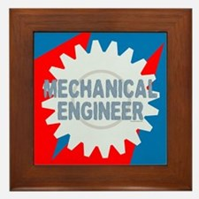 Mechanical Engineer Framed Tile