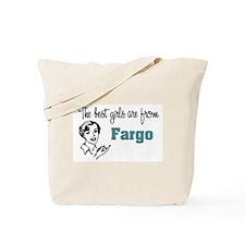 Best Girls Fargo Tote Bag