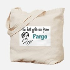Best Girls Fargo Tote Bag