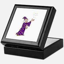 Purple Wizard Keepsake Box