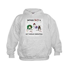 Nothin Butt Rat Terrier Xmas Hoodie