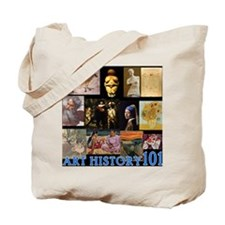 Art History 101 Tote Bag