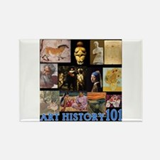 Art History 101 Rectangle Magnet