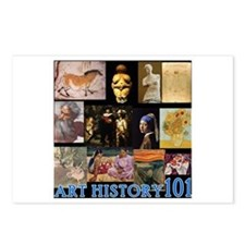 Art History 101 Postcards (Package of 8)