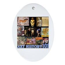 Art History 101 Oval Ornament