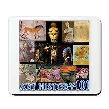 Art History 101 Mousepad