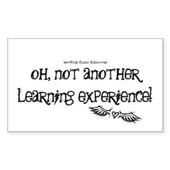 Learning Experience Rectangle Decal