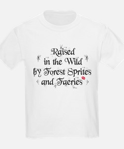 Raised in the wild... T-Shirt
