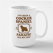 American Cocker Spaniel Large Mug