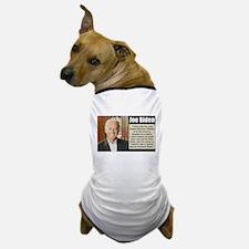 Biden on Clarence Thomas Dog T-Shirt