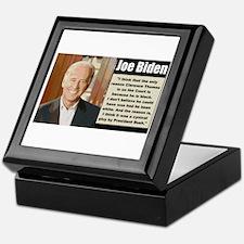 Biden on Clarence Thomas Keepsake Box