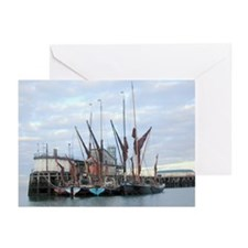 Barges Greeting Cards (Pk of 10)