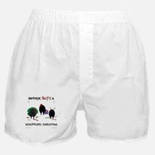Nothin Butt Schipperke Xmas Boxer Shorts
