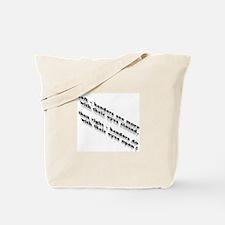 Left-handers see more Tote Bag