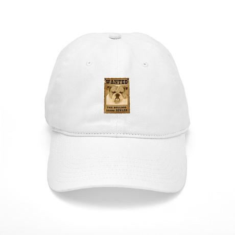 """""""Wanted"""" Bulldog Cap"""
