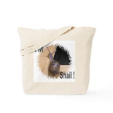 I'M Snail Tote Bag