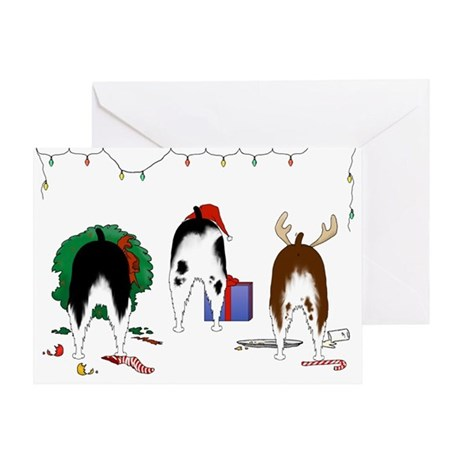 Springer Christmas Greeting Card