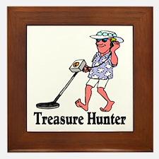 Treasure Hunter Framed Tile