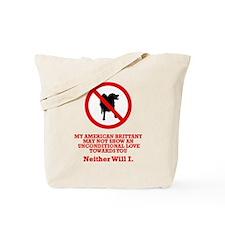 American Brittany Tote Bag