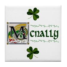 McNally Celtic Dragon Ceramic Tile