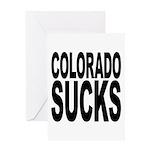 Colorado Sucks Greeting Card