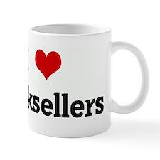 I Love booksellers Mug