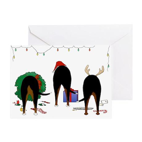 Swissie Christmas Greeting Card