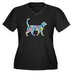 Melanoma Hero Women's V-Neck T-Shirt