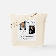 Obama Biden A Few Good Men Tote Bag