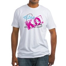team k.o. figure skating pink Shirt