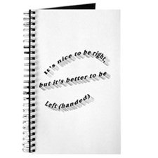 Better to be Left-handed Journal
