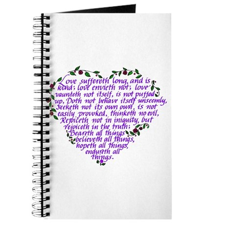 Bible Love passage Journal
