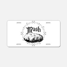Mash Aluminum License Plate