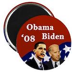 Obama - Biden '08 Campaign Magnet