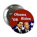 Obama - Biden '08 Flag Button