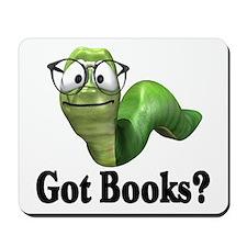Got Books? Mousepad
