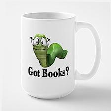 Got Books? Large Mug