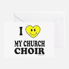 CHURCH CHOIR Greeting Card