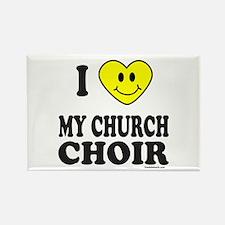 CHURCH CHOIR Rectangle Magnet