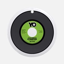 YO-Groove On 45RPM Ornament (Round)