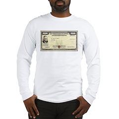 Defense Bonds Long Sleeve T-Shirt