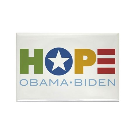 HOPE Obama Biden Rectangle Magnet (100 pack)