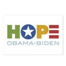 HOPE Obama Biden Postcards (Package of 8)