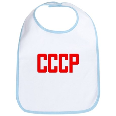 CCCP Soviet USSR Bib