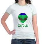 Shalom Alien Jr. Ringer T-Shirt
