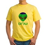 Shalom Alien Yellow T-Shirt