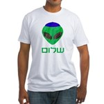 Shalom Alien Fitted T-Shirt