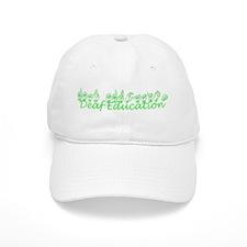 Deaf Education Baseball Cap